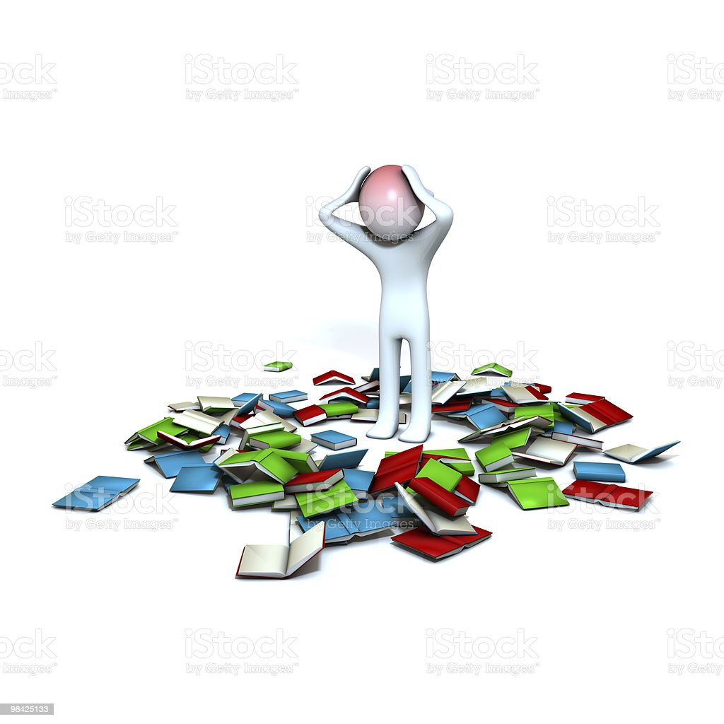 too much information royalty-free stock photo