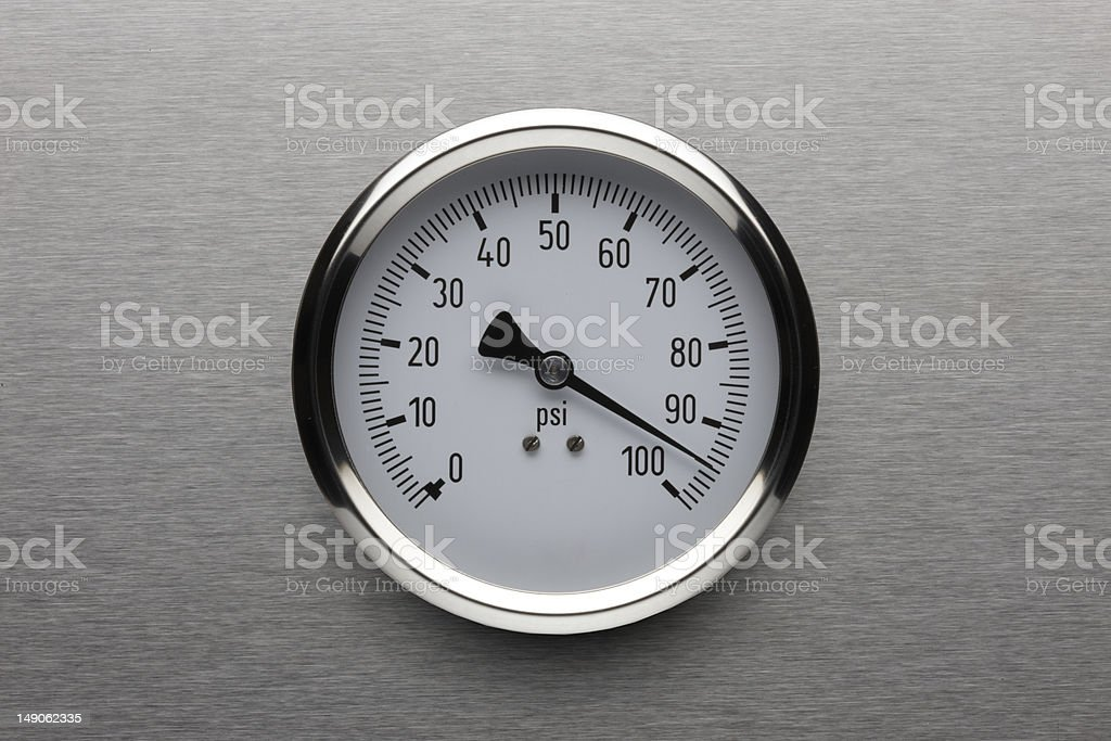 Too much Pressure royalty-free stock photo