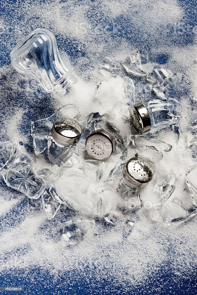 Too Much Salt stock photo