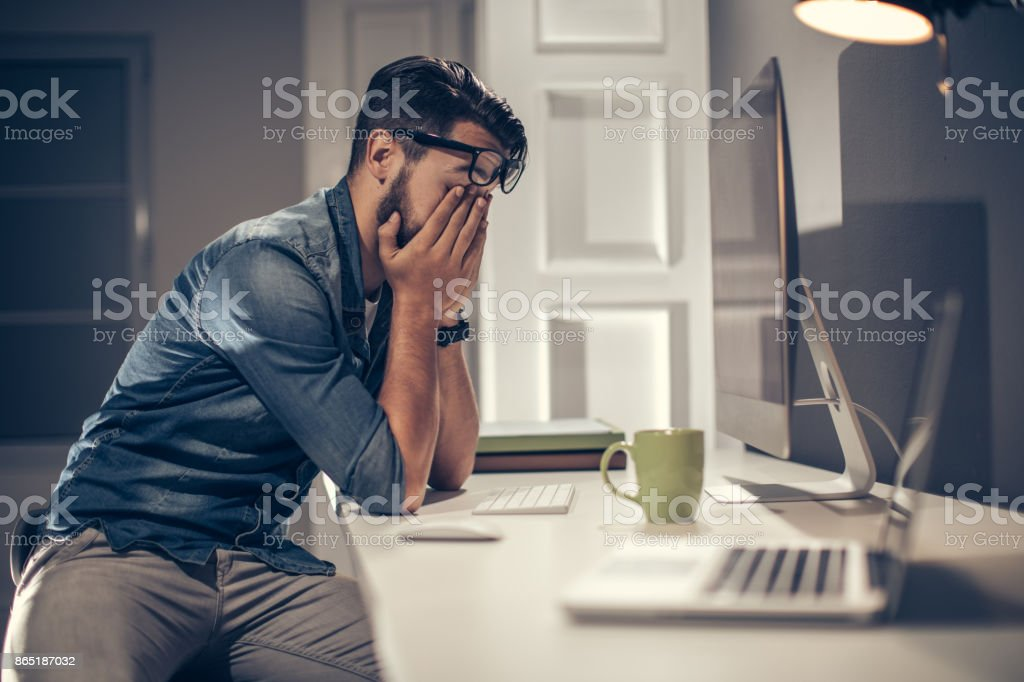 Too much to handle stock photo