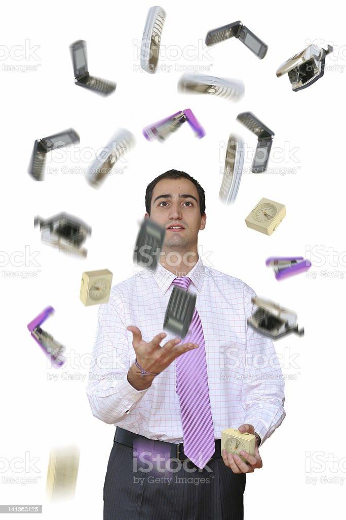 Too much work stock photo