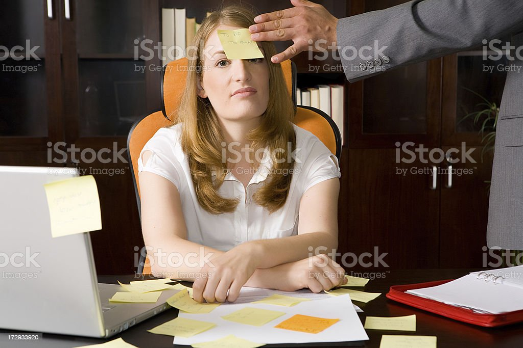Too much Work! royalty-free stock photo