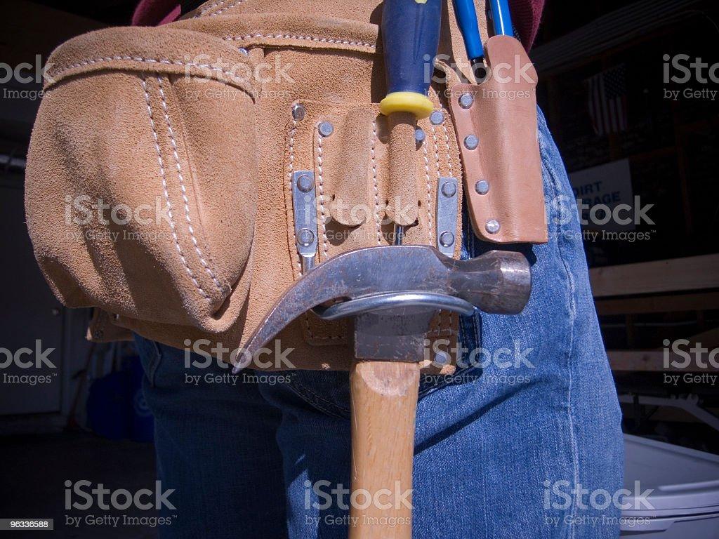 Tool Belt royalty-free stock photo