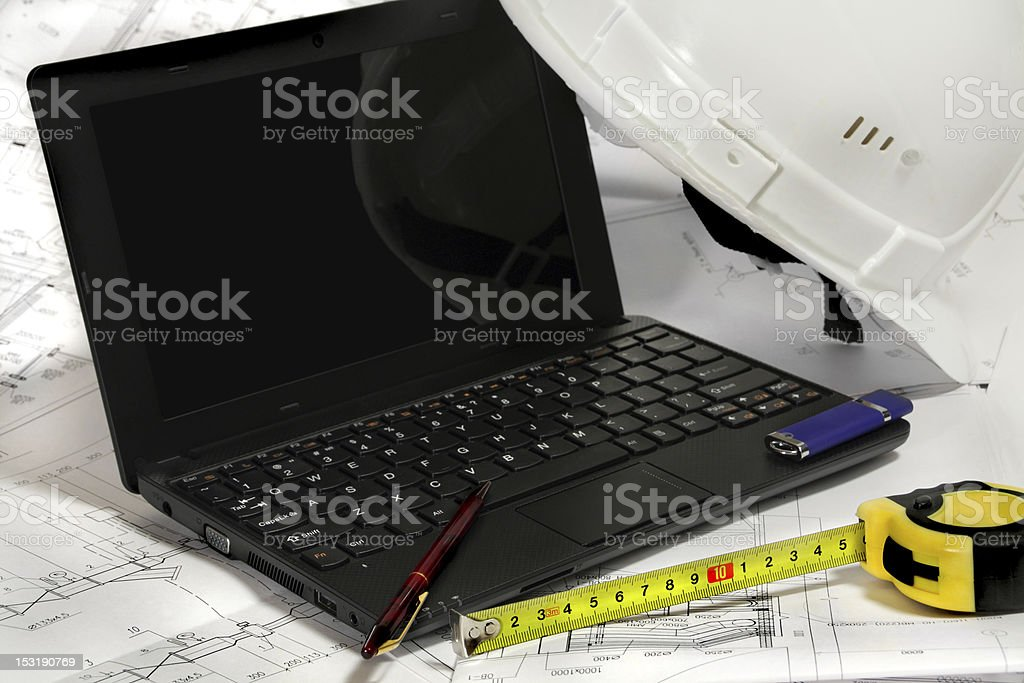 tool engineer royalty-free stock photo