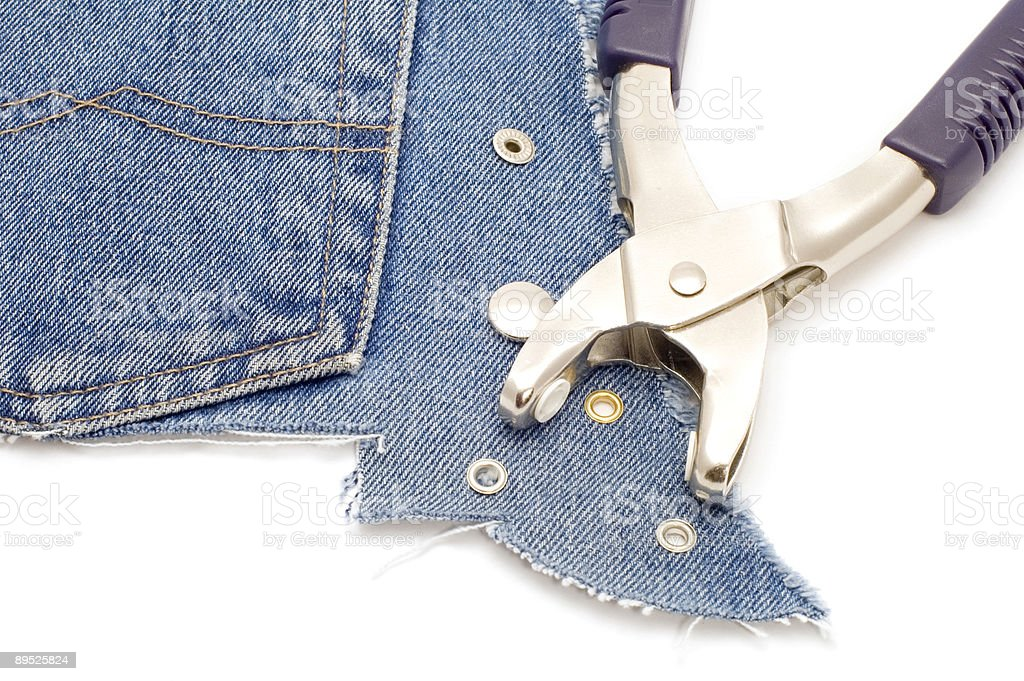 tool for jeans royalty-free stock photo
