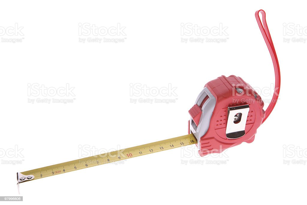 tool for measuring centimeter royalty-free stock photo