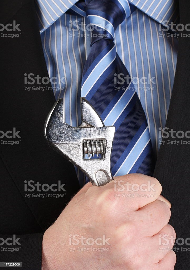 Tool for the Job royalty-free stock photo