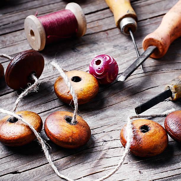 Tool kit for handmade stock photo