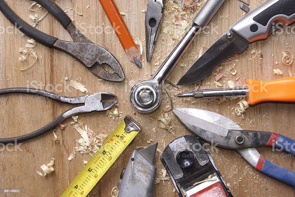 tool mosaic royalty-free stock photo