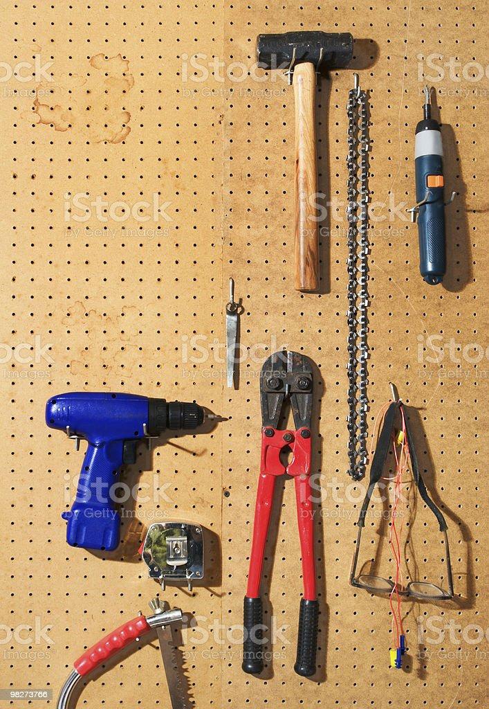 Tool Wall royalty-free stock photo