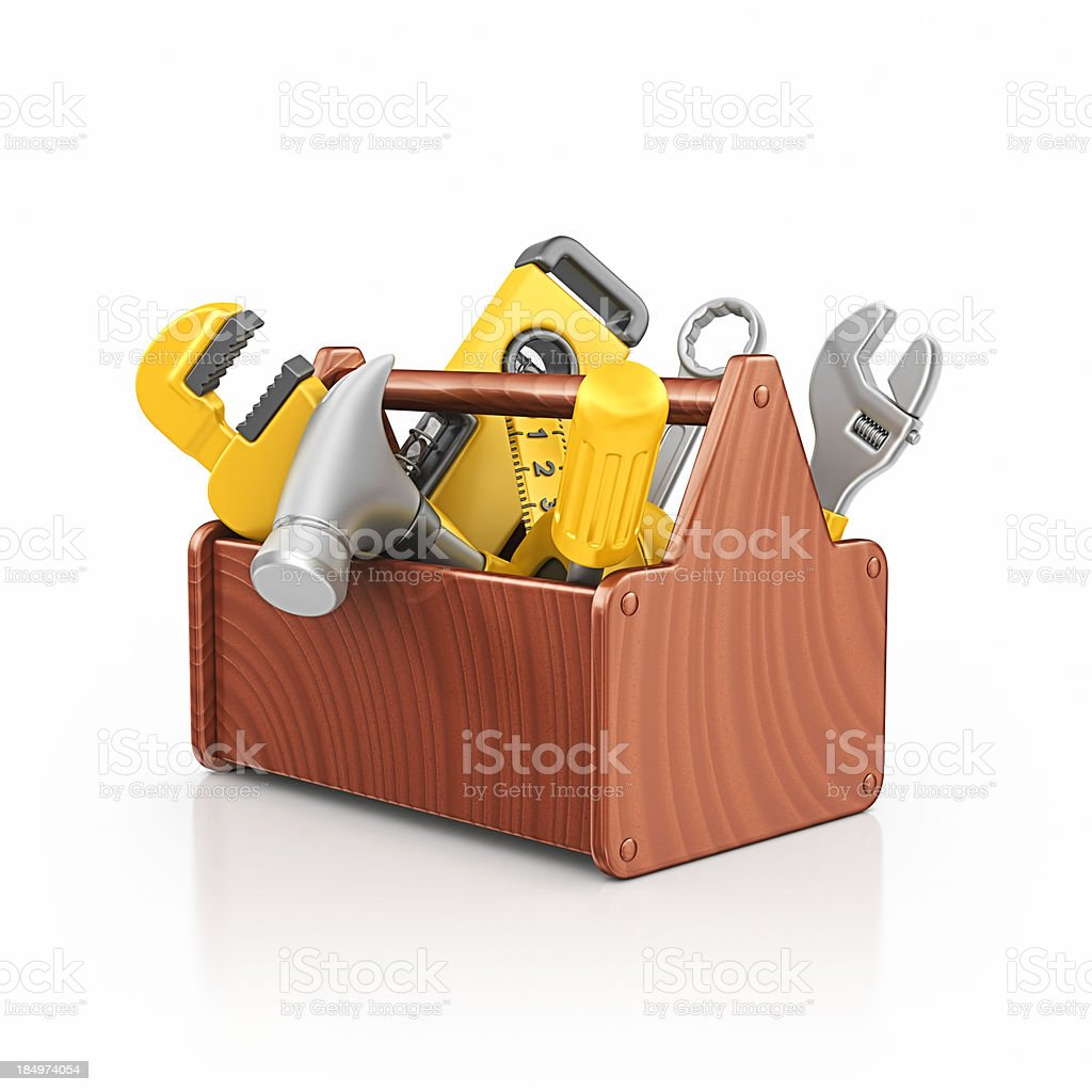 toolbox royalty-free stock photo