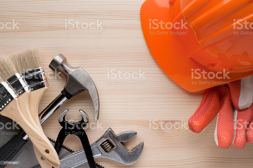Tools background royalty-free stock photo