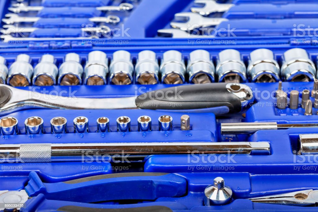 Tools Built With An Alloy Of Chrome And Vanadium Stock Photo