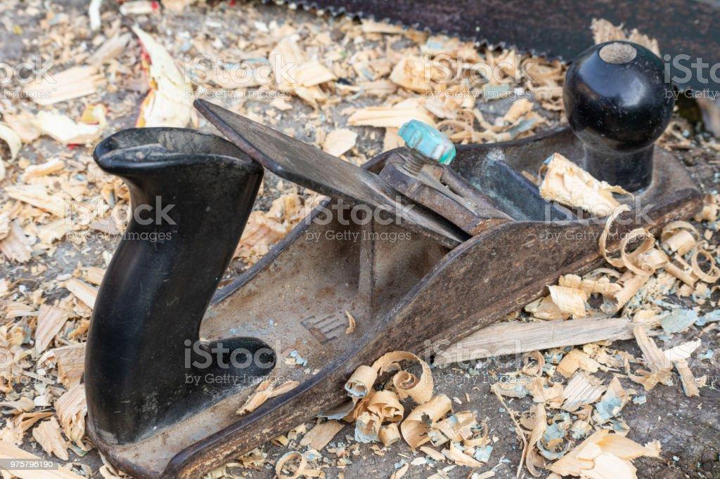 Werkzeuge-Tischler - Lizenzfrei Alt Stock-Foto