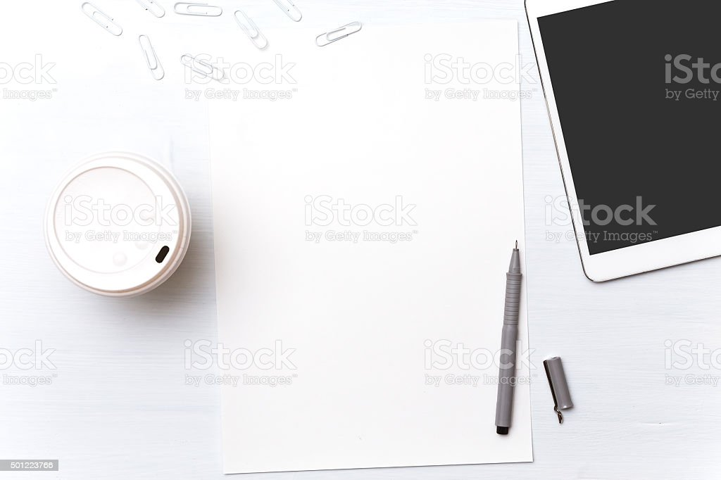 Tools designer. Background for text and graphics stock photo