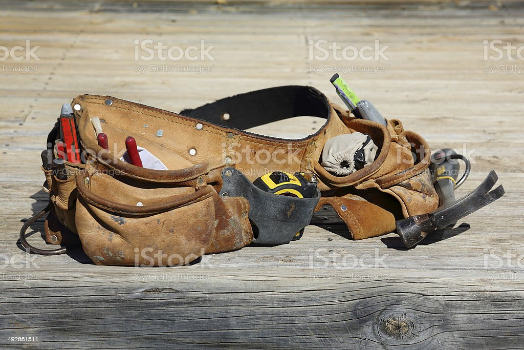 Tools Down stock photo