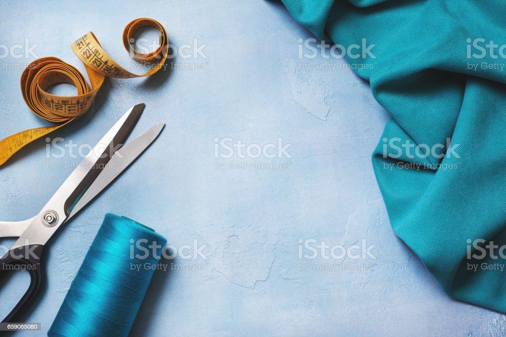 tools for sewing - foto de acervo