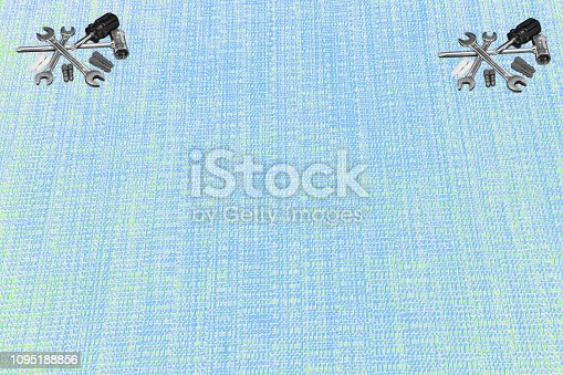 istock Tools for the self made 1095188856
