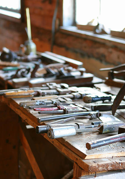 Tools from the Past stock photo