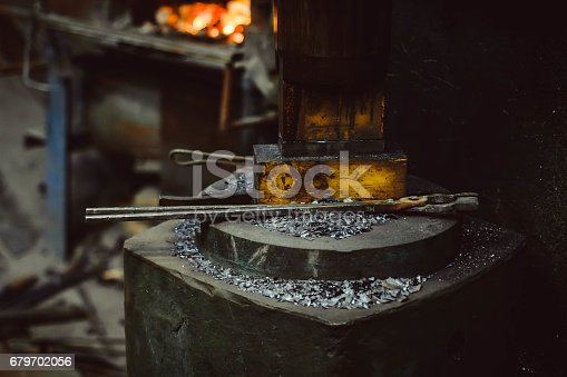 istock tools in the forge 679702056