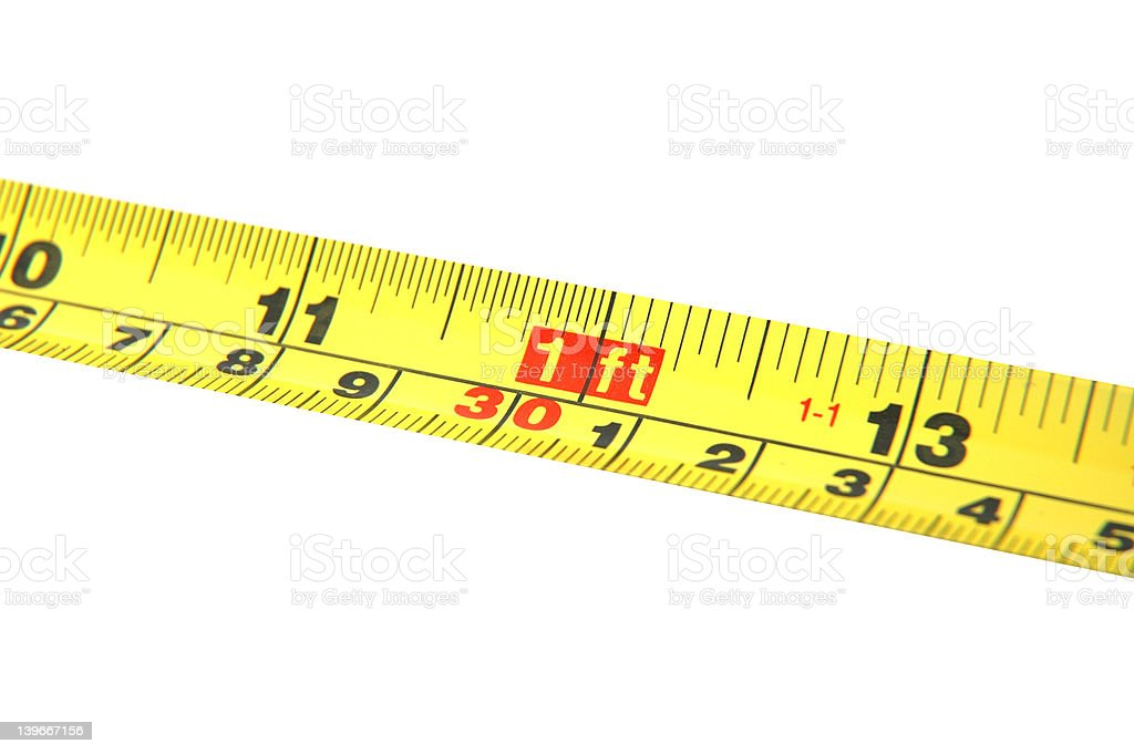 Tools - Measure Tape royalty-free stock photo