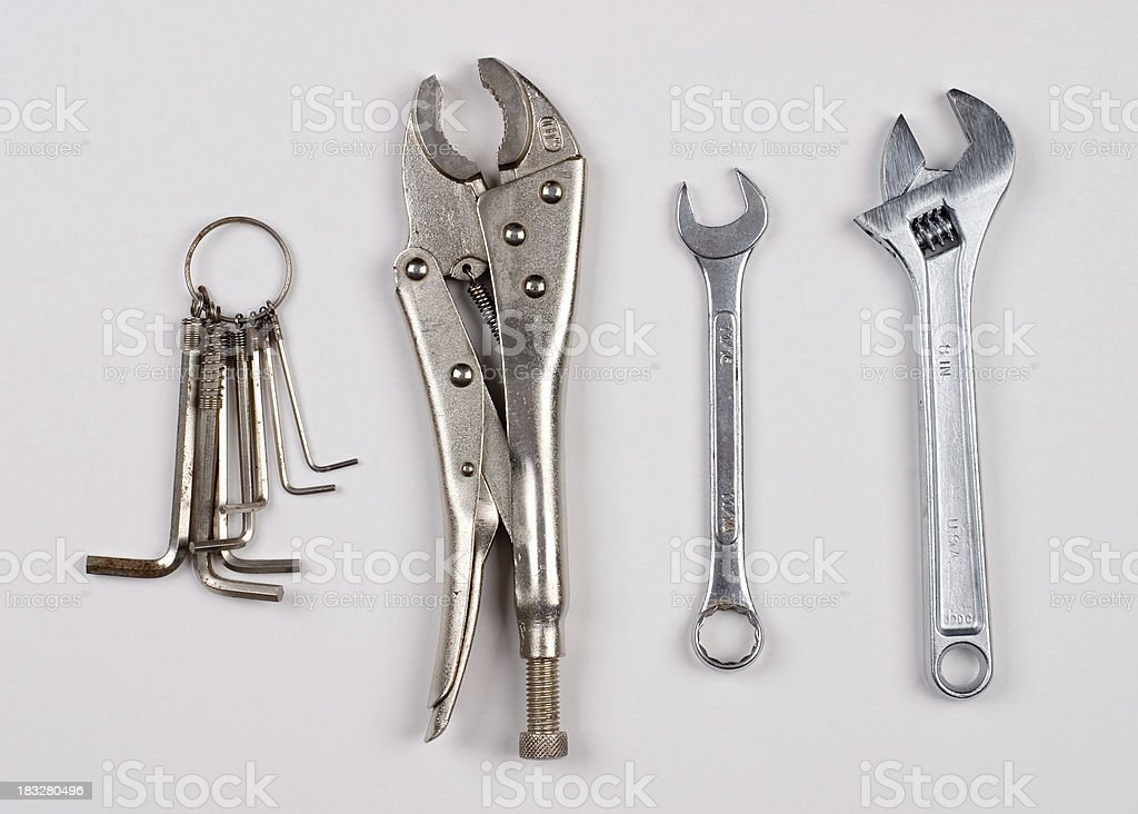 Tools: Metal royalty-free stock photo