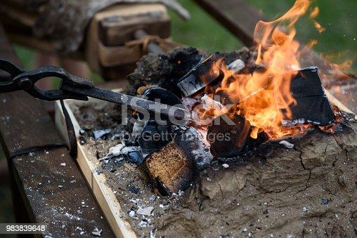 istock Tools of the blacksmith. 983839648