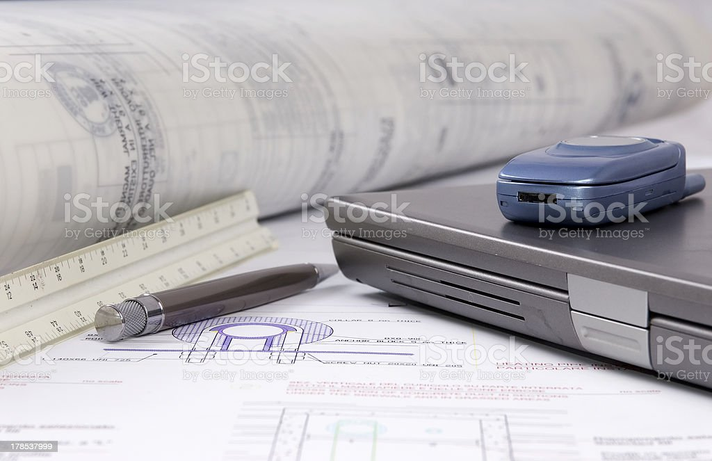 Tools of the trade 2 royalty-free stock photo