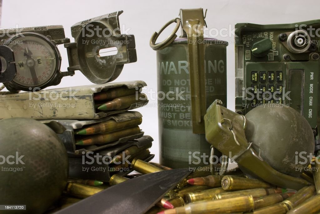 Tools of War royalty-free stock photo