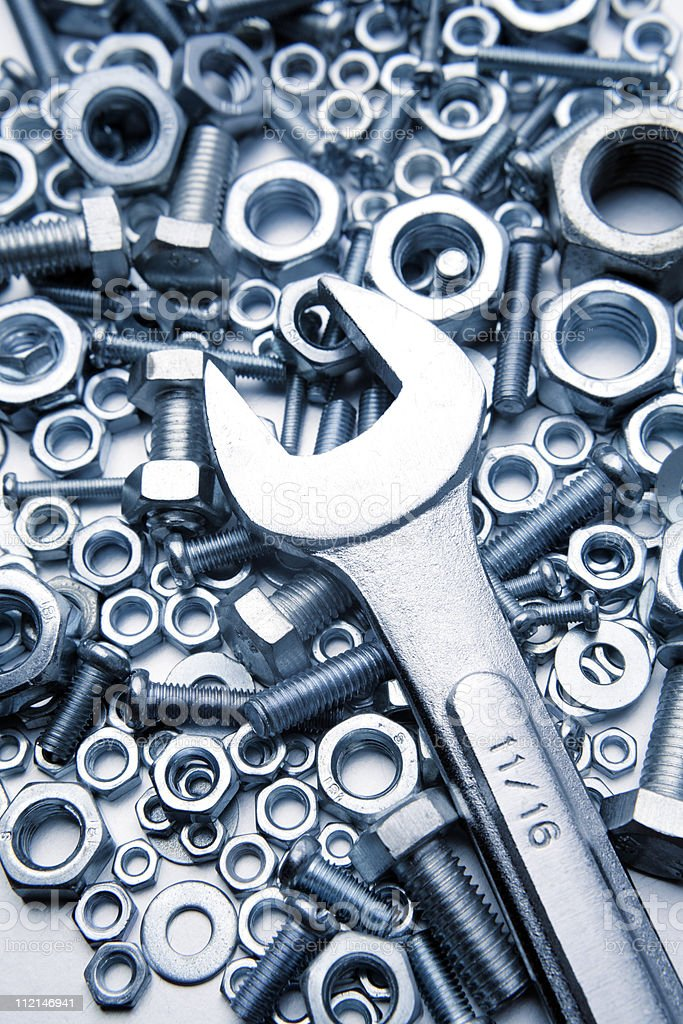 Tools - Royalty-free Bolt - Fastener Stock Photo