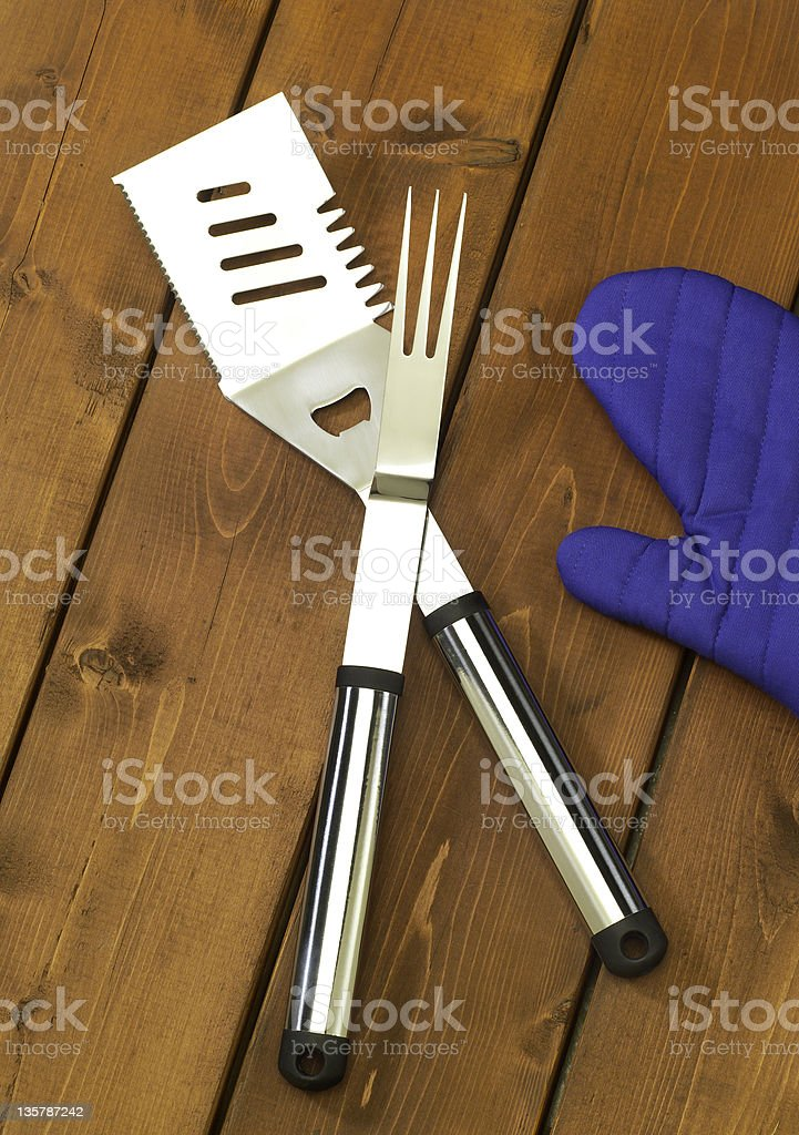 BBQ tools royalty-free stock photo