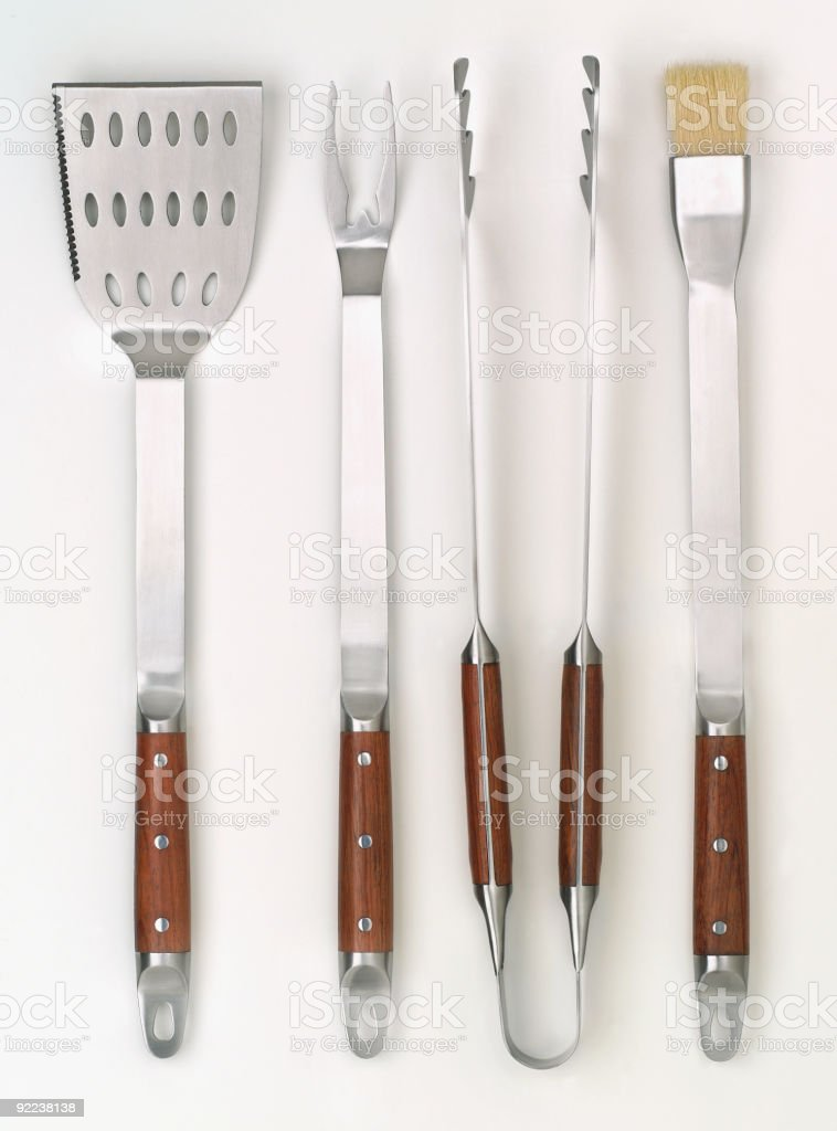 BBQ tools stock photo
