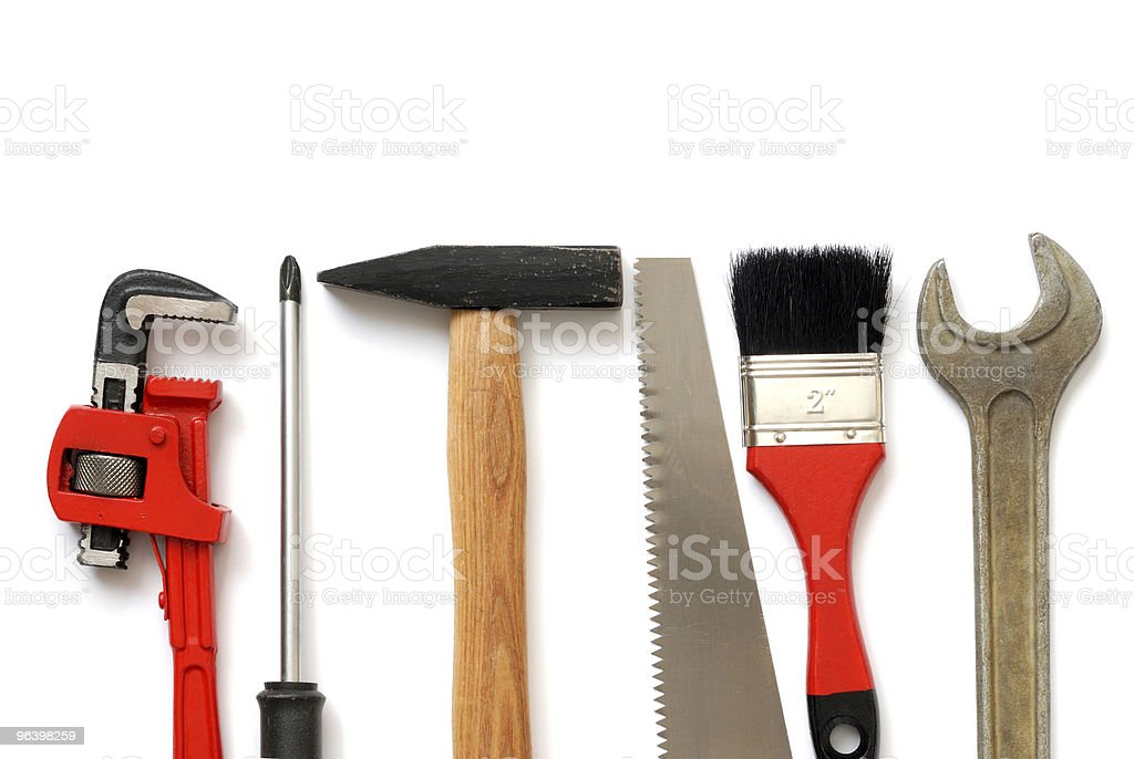Tools - Royalty-free Adjustable Wrench Stock Photo