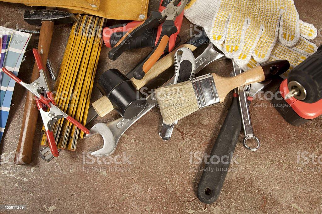 Tools series royalty-free stock photo
