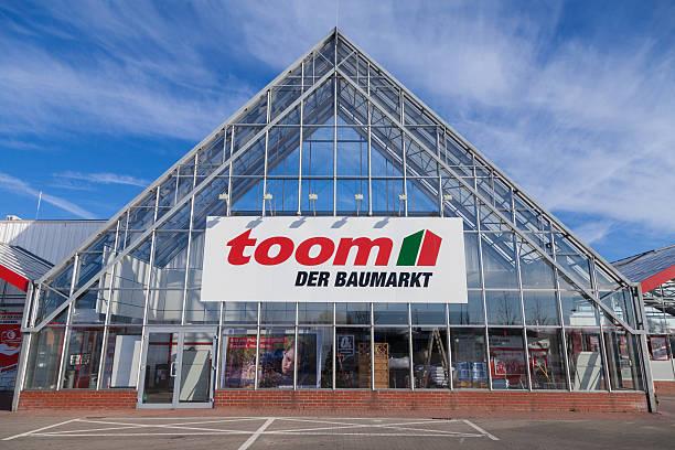 toom hardware store - rewe germany stock-fotos und bilder