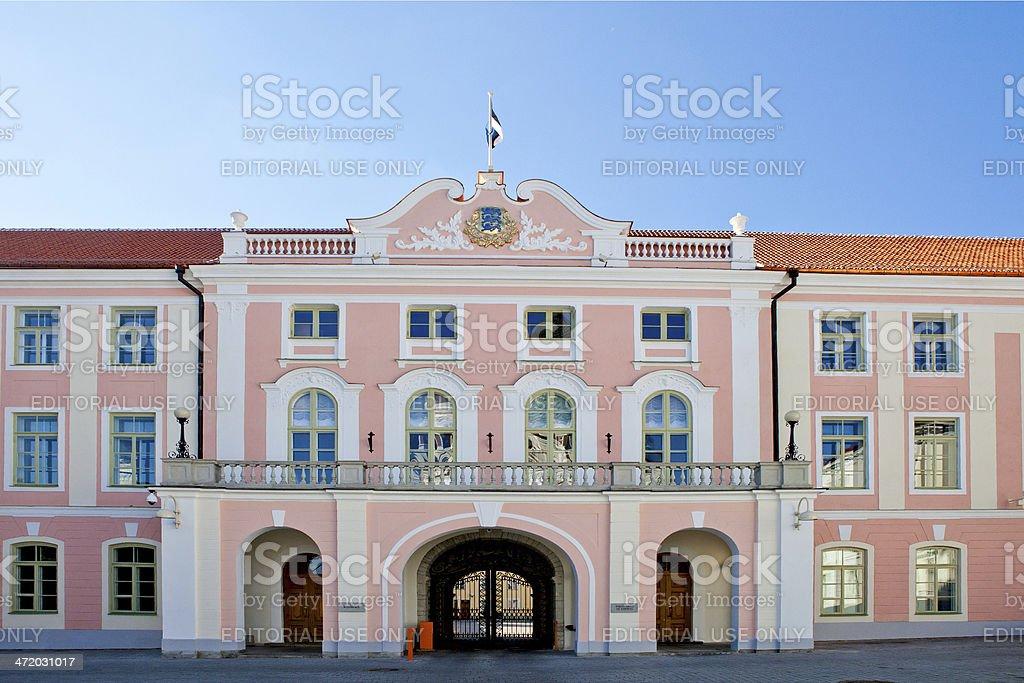 Toompea Palace, Tallinn stock photo