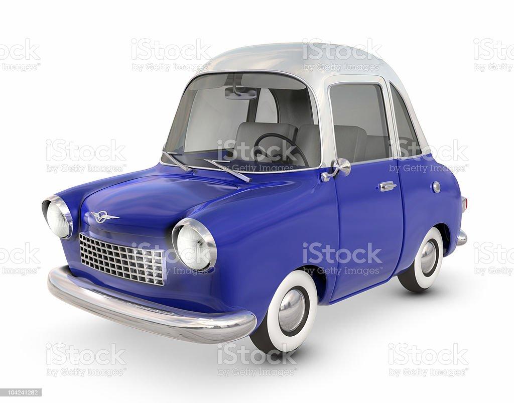 Toon Car royalty-free stock photo
