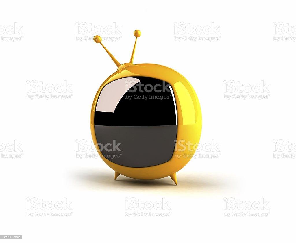 Toon tv stock photo