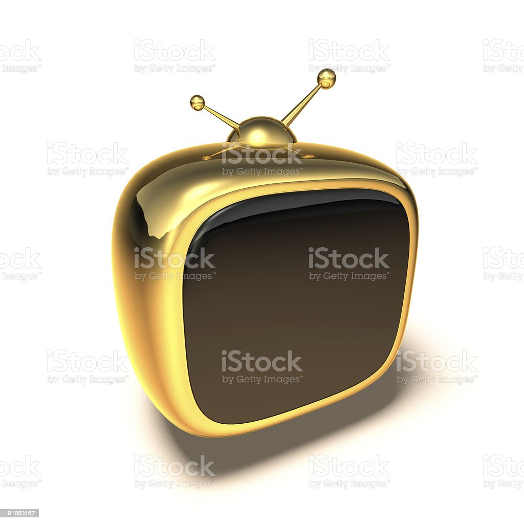 Toon tv royalty-free stock photo