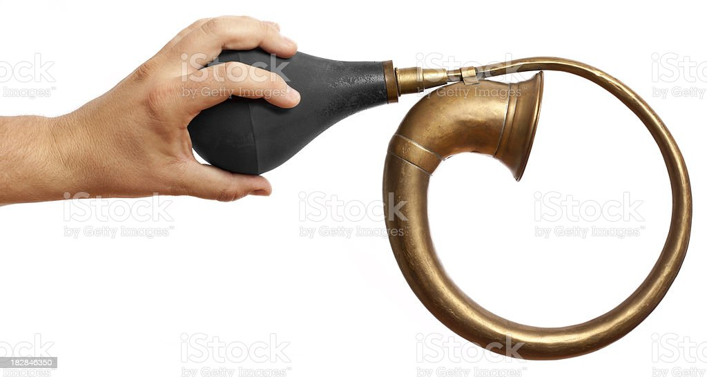 Toot Your Horn royalty-free stock photo
