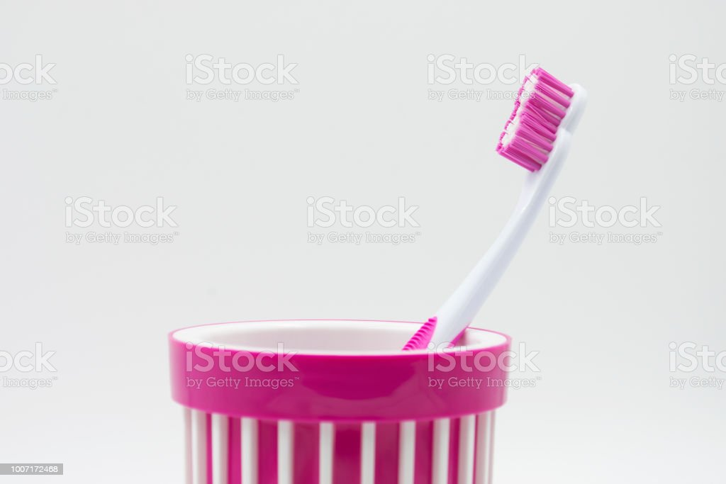 tooth brushes stock photo