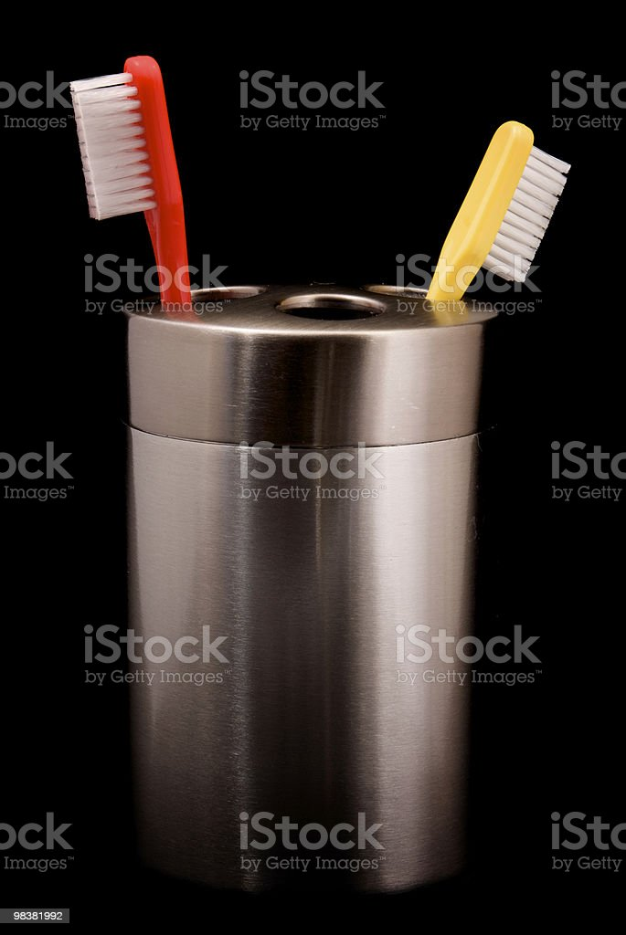 Tooth Brushes royalty-free stock photo