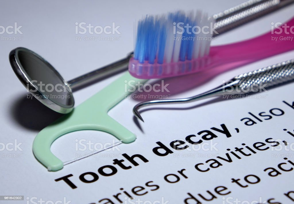 Tooth Decay Prevention stock photo