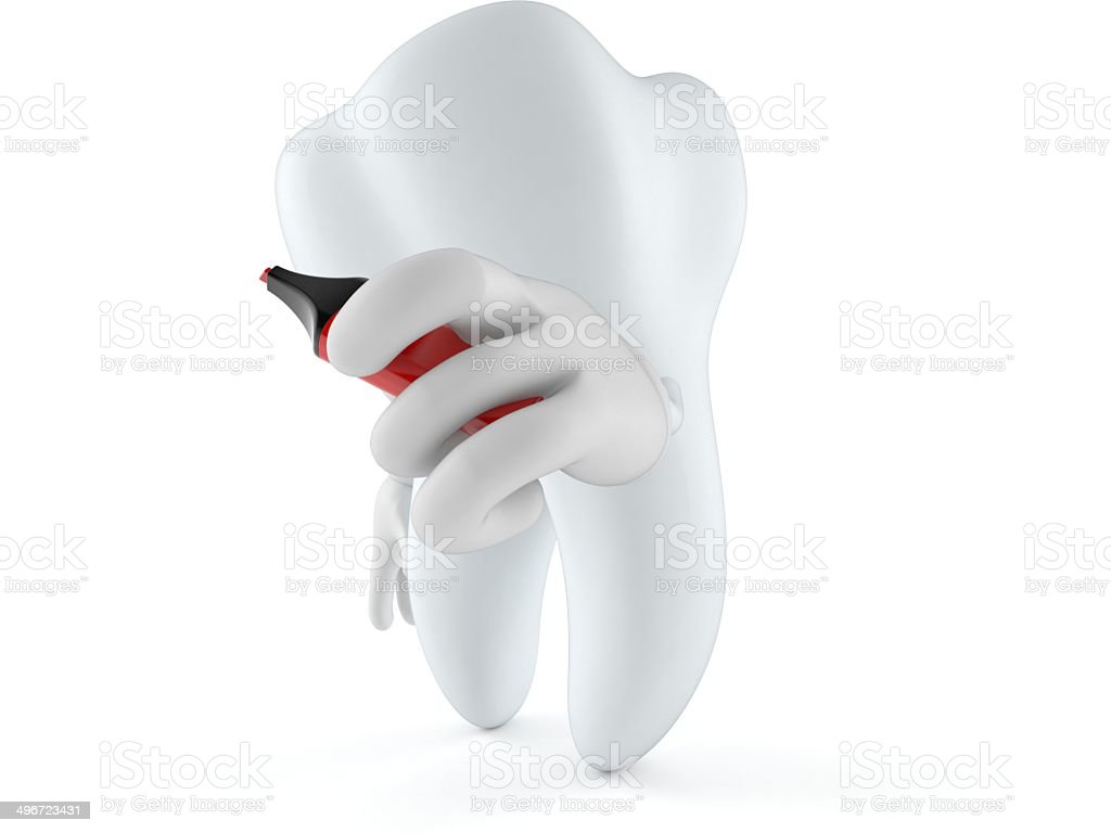 Tooth royalty-free stock photo
