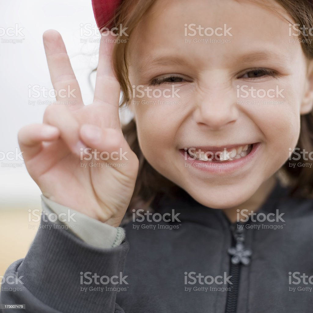 Tooth Space Smile stock photo