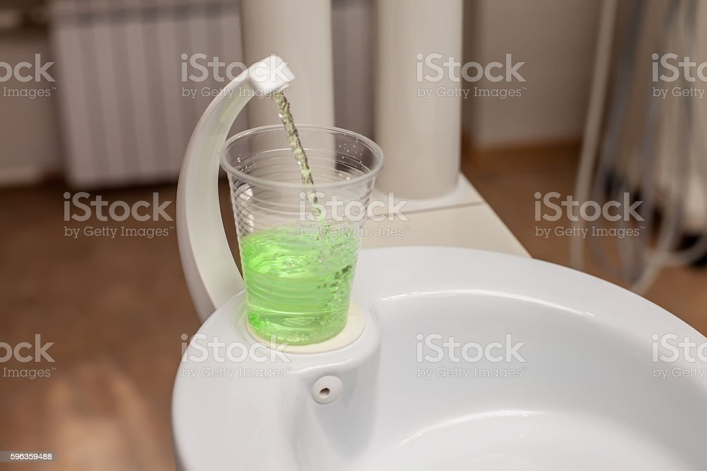 Tooth wash royalty-free stock photo