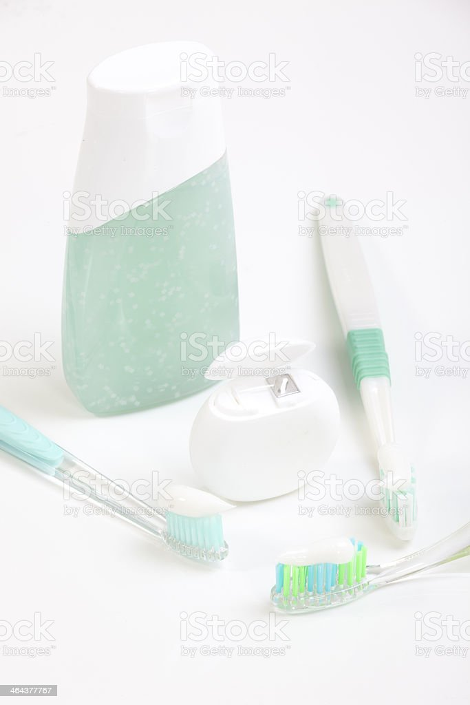 Toothbrush and dental royalty-free stock photo