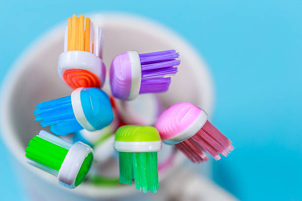 toothbrush close up shot of toothbrush toothbrush stock pictures, royalty-free photos & images