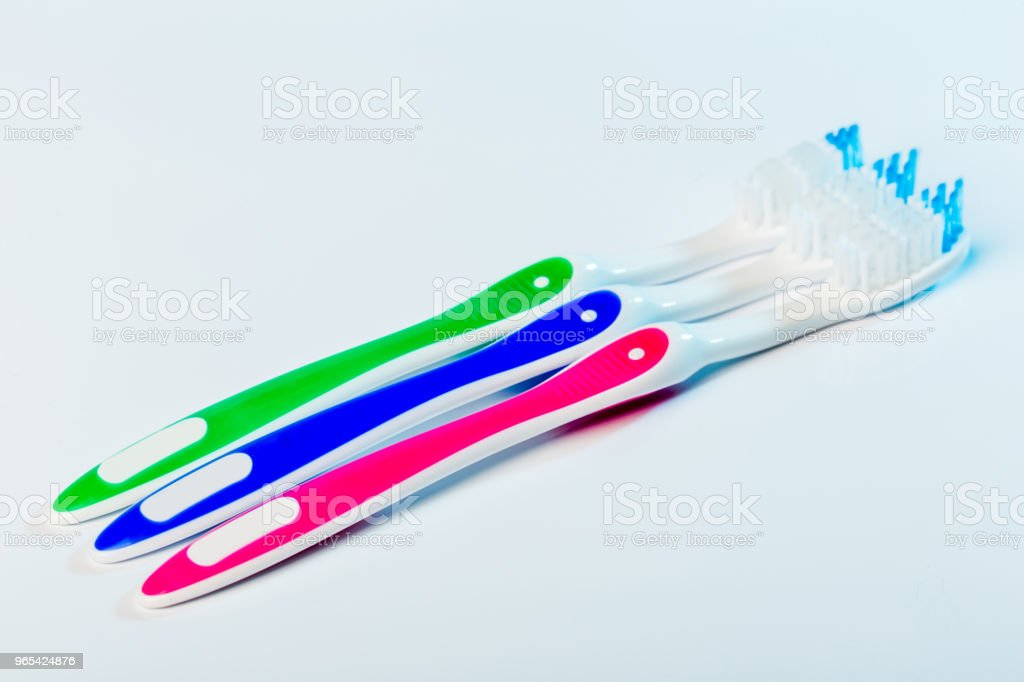 toothbrush zbiór zdjęć royalty-free