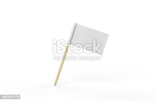 Flag,Toothpick, Sign, Symbol, Mock-up